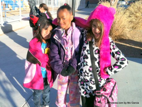 Crazy Pajama Day at School