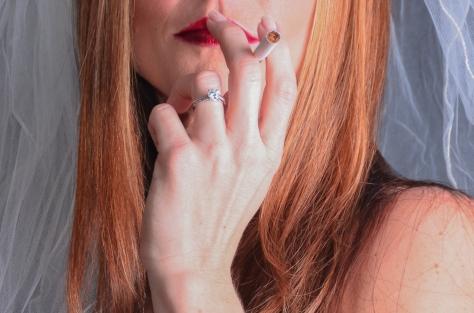Smoking . . .