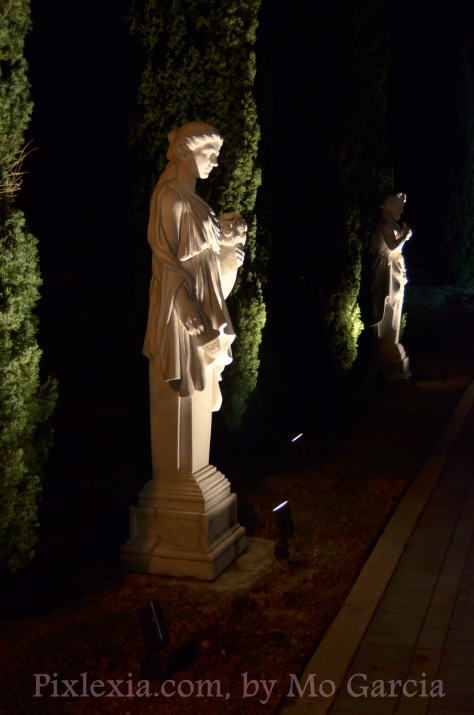 Greek or Roman Gods and Goddesses . . . dramatic.