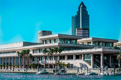 view of convention center from HI
