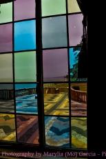 Pastel tinted windows