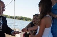 Ella, handing Tom my ring.