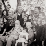 different perspectives of the traditional family shoot