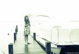 Rainy day on the dock