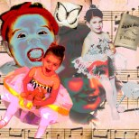 Another collage of me,des, mallory and ella's baby pics. Now I have to make another one adding Olive:-)