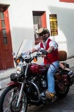 Modern Day Cowboy on his rig!