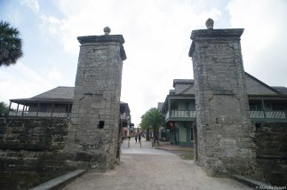 The Main City Gates on the Southern Approach to the City.