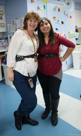 Lisa and Erica